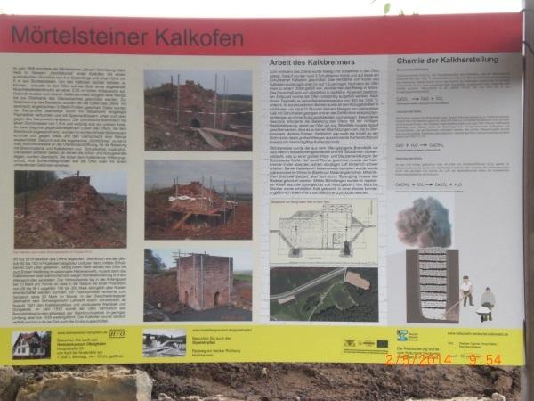 Infotafel Kalkofen
